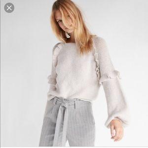 Express balloon sleeve sweater